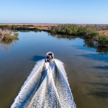Wildman Fishing Tours Boat Drone
