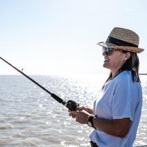 Wildman Fishing Tours Lure Casting